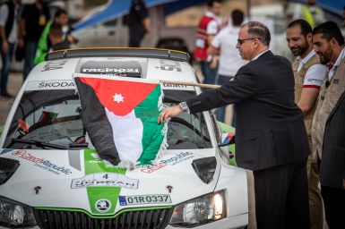 Jordan Rally 2018: Štajf started his participation in MERC in second place