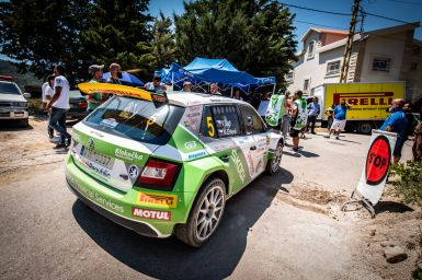 Rally of Lebanon 2018: Fifth place on black ice
