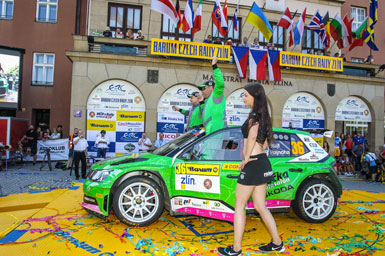 Barum Czech Rally Zlín