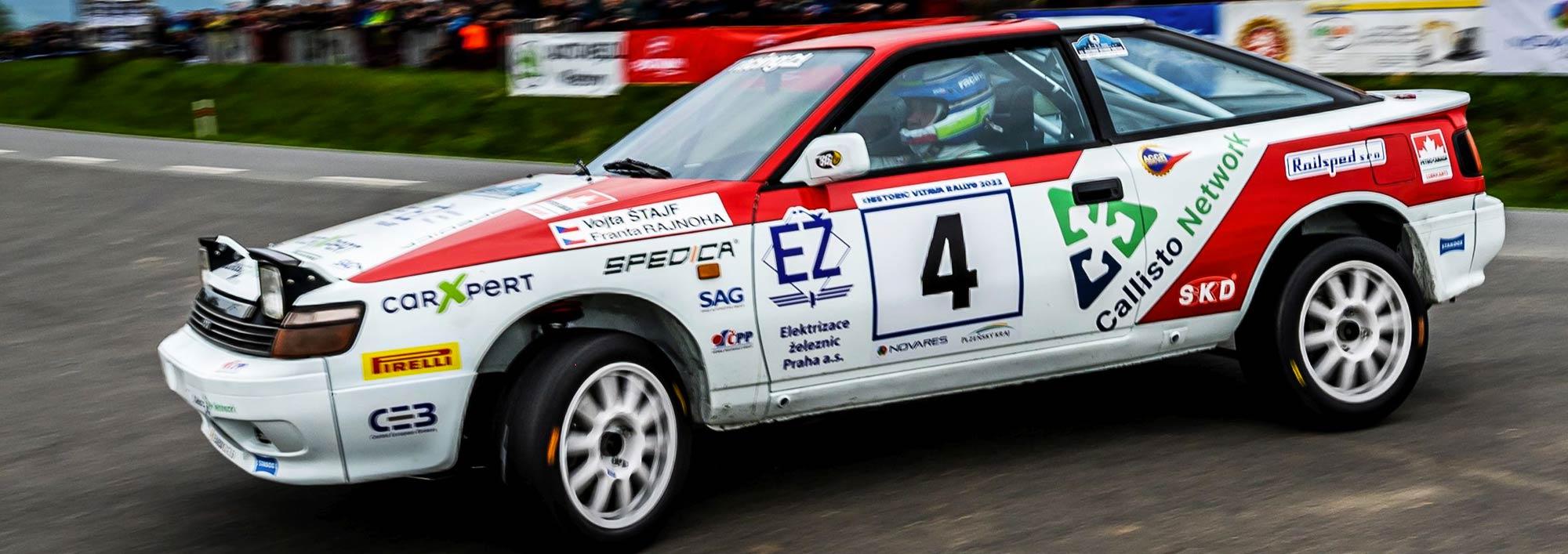 RACING 21: Partneři - Škoda WRC, rally, team, Štajf, Ehlová, Racing 21, závodník Škoda